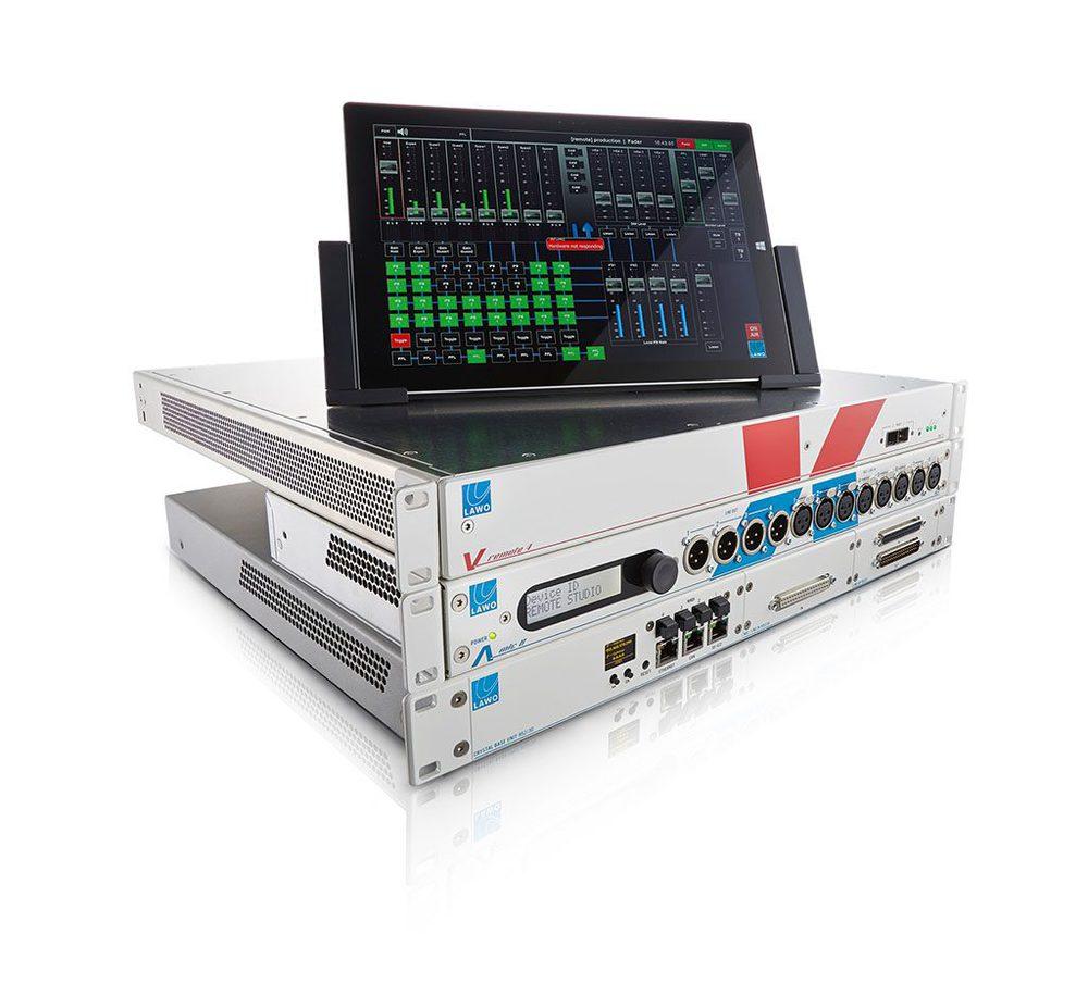 Remote Production mit Lawo