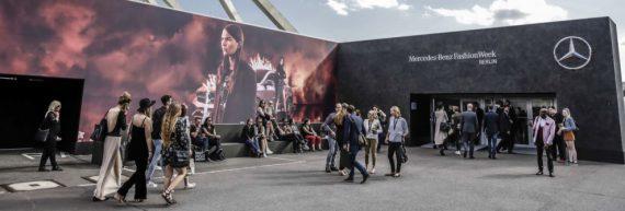 Losberger auf der Mercedes Benz Fashion Week