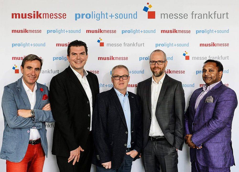 Stephan Kurzawski, Michael Biwer, Wolfgang Lücke, Christopher Sparkes, Binu Thomas