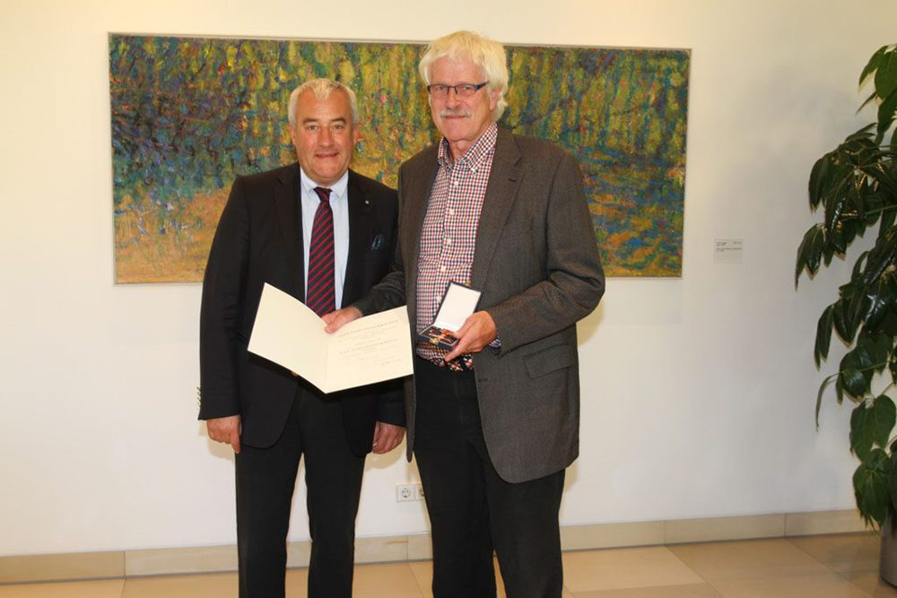 Dr. Ludwig Spaenle und Max Keller