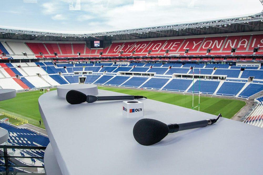 Riedel-Technologie im neuen Stadion von Olympique Lyon