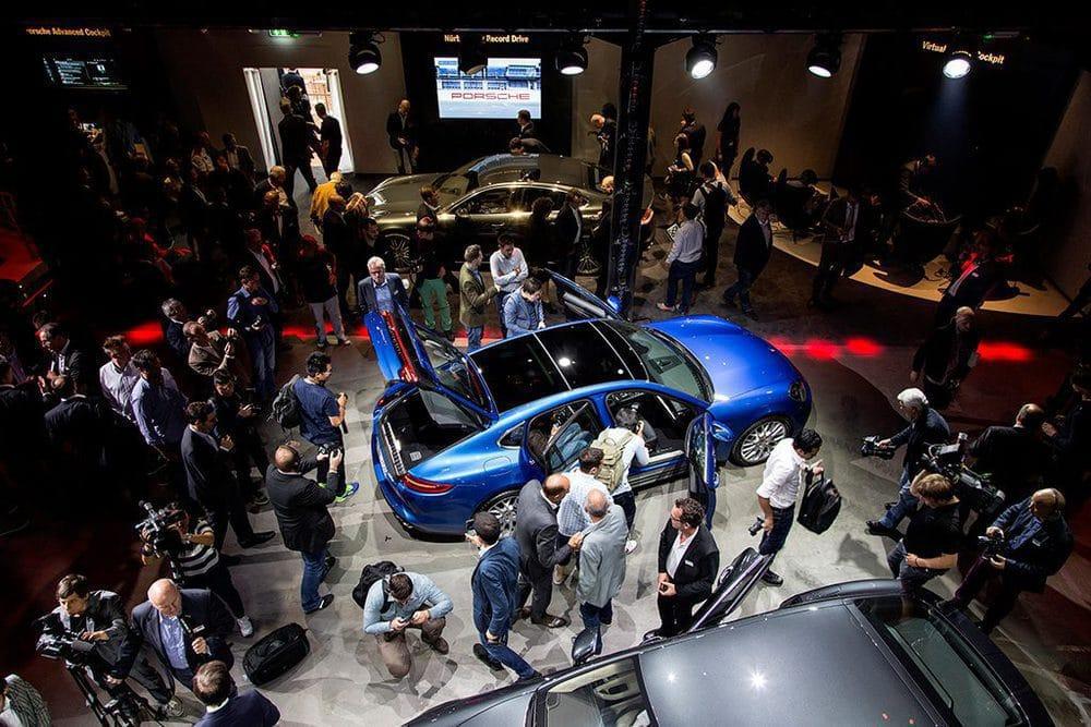 Weltpremiere des Porsche Panamera