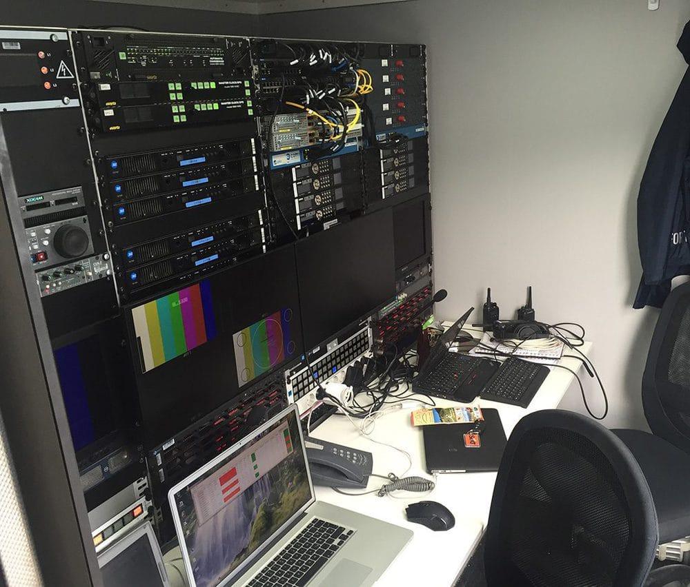 Lawo Equipment bei RTL und der Formel 1