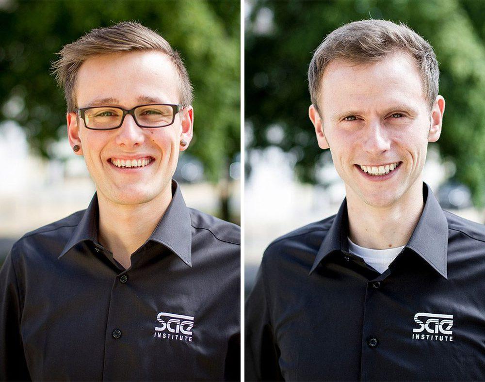 Flemming Krahl (l.) und Tim Weinand