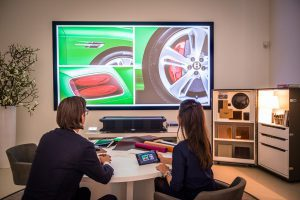 Sony 4K-Laserprojektion bei Bentley Amsterdam