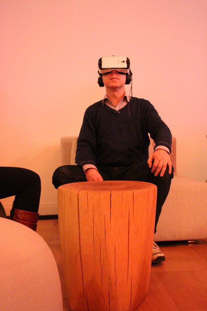 VR Brille, die Samsung Gear