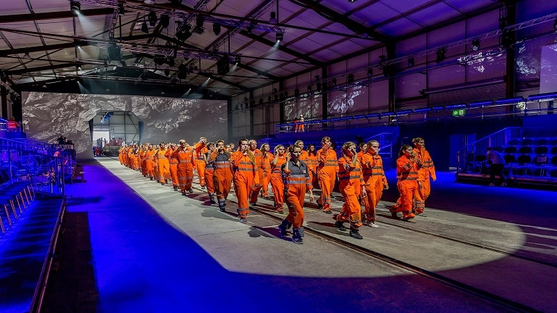 Gotthard-basistunnel Eröffnungsshow