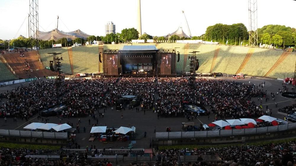 eps bei Paul McCartney Konzerten