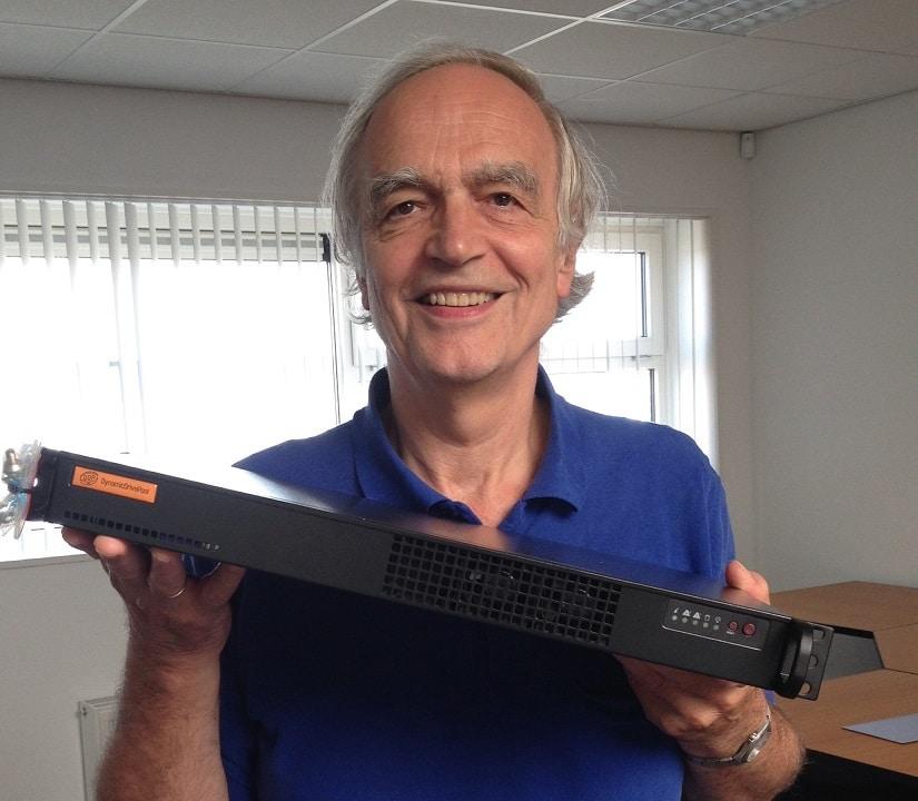 Jan de Wit, CEO Ardis Technologies, mit einem microDDP