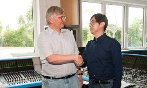 Dr. Helmut Jahne und Advon Tan