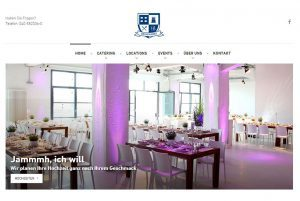 Screenshot Brunckhorst Catering