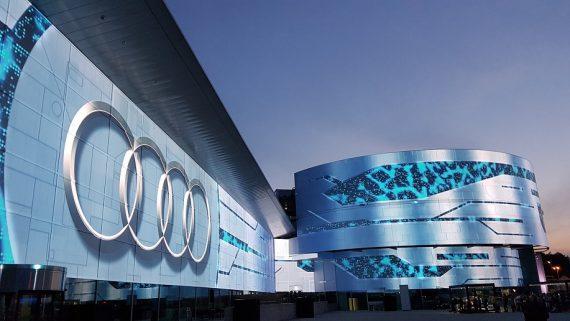 Audi Videomapping