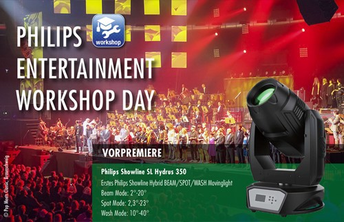 Philips Entertainment Workshop Day