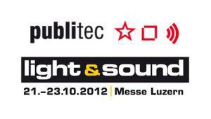 Logo von Publitec und der Light & Sound in Luzern