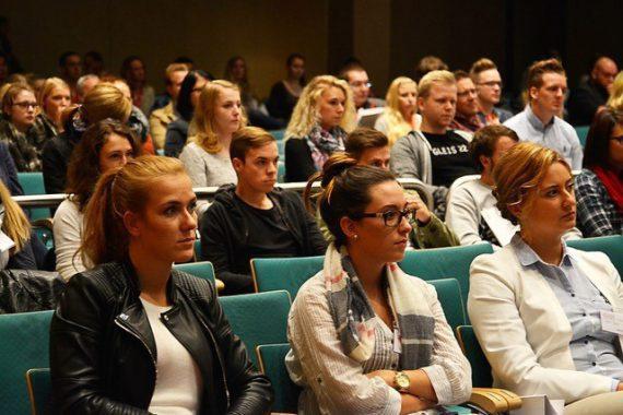 Publikum bei VIA Münster