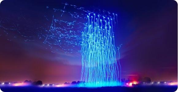 Drohnen Show