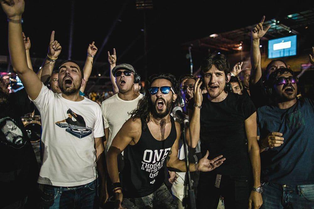 Shure beim Rockin'1000 – That's Live