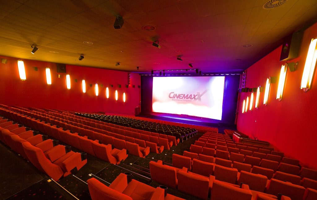 Saal 10 im CinemaxX