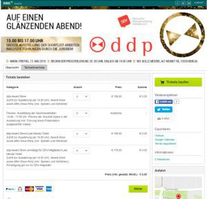Screenshot Xing: Deutscher Dialogmarketing Verband