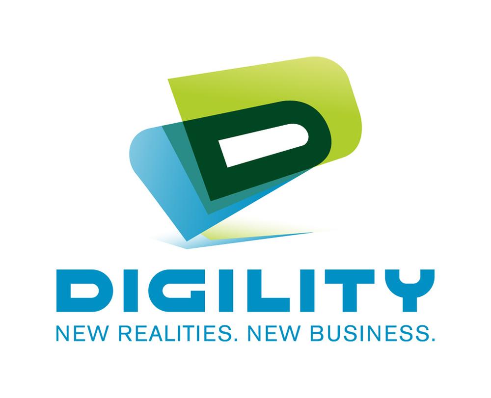 Logo und Claim der Digility