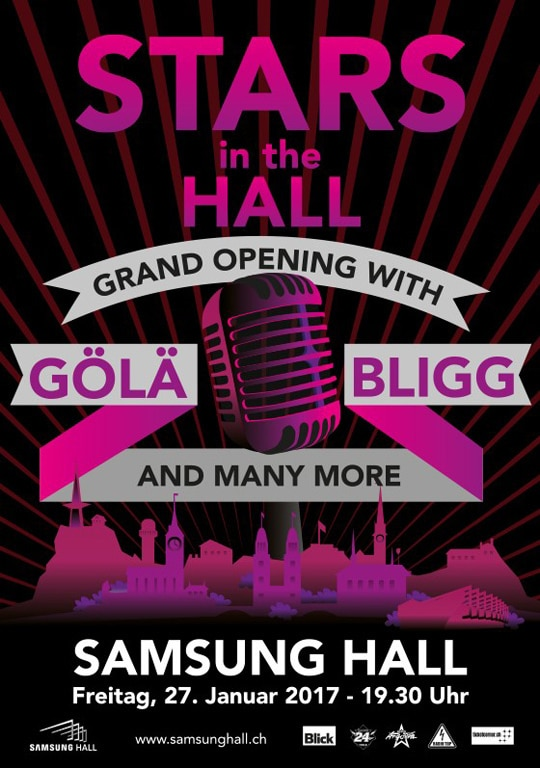 Grand Opening Samsung Hall