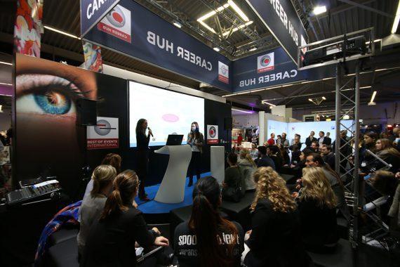 Career-Hub auf der BOE 2016