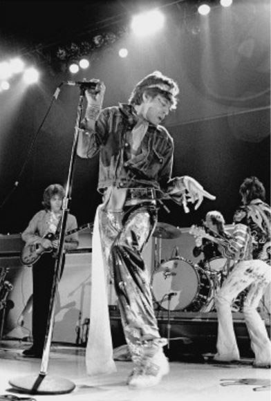 Mick Jagger, The Rolling Stones, Los Angeles, 1973
