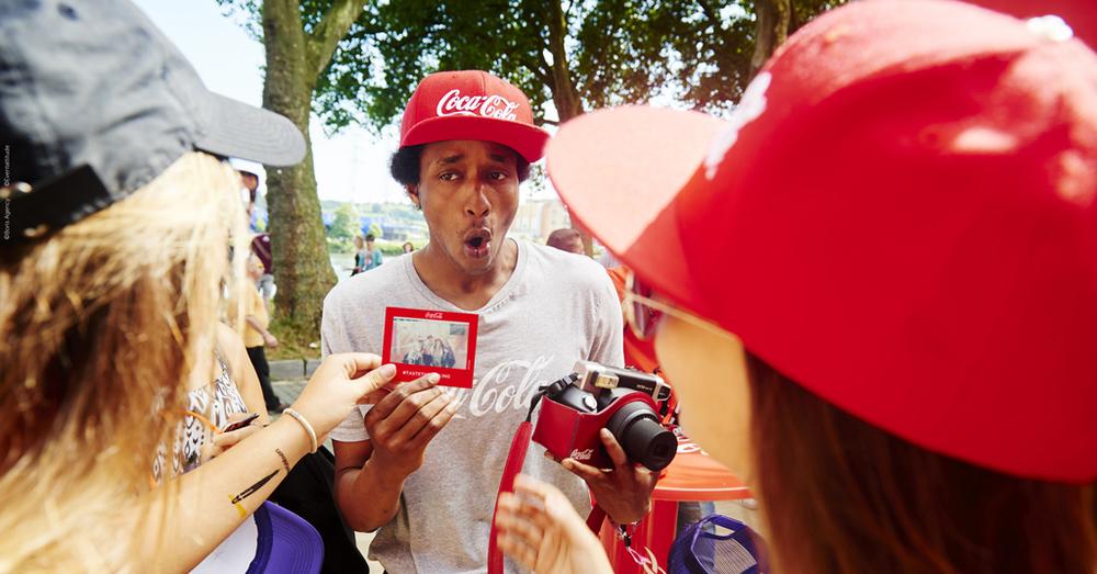 Photoflyer von Coca-Cola