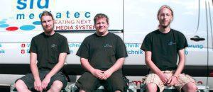 Drei Meister bei SLD Mediatec