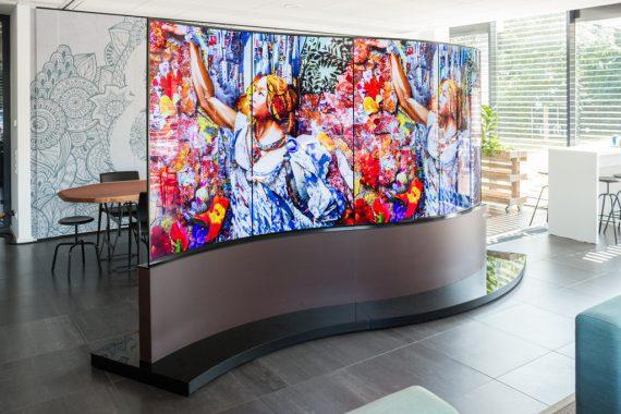 LG Wave Display bei satis&fy