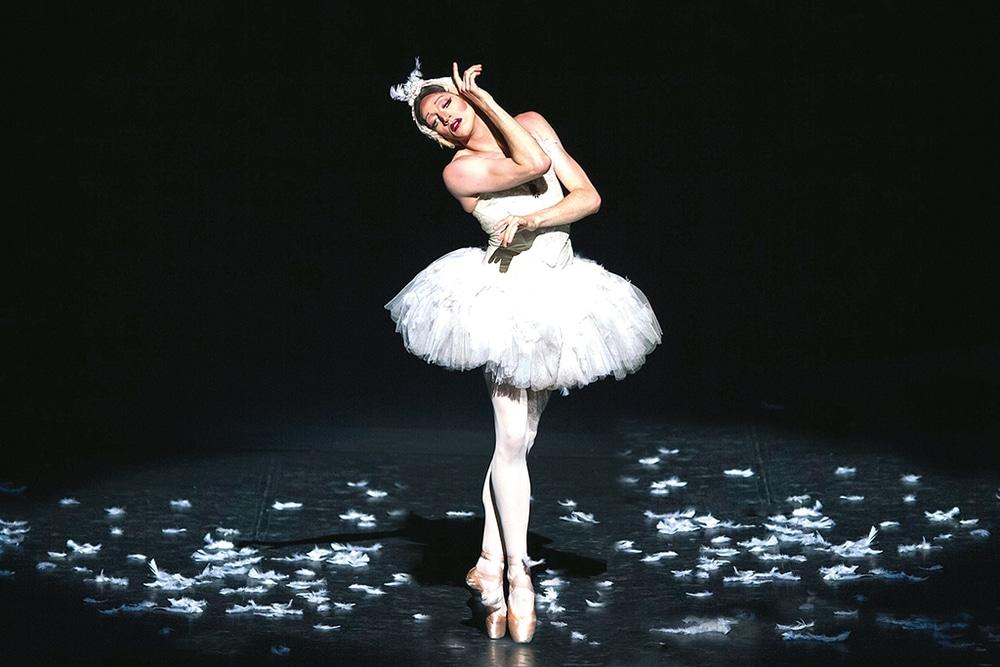 Balletttänzer im Tütü