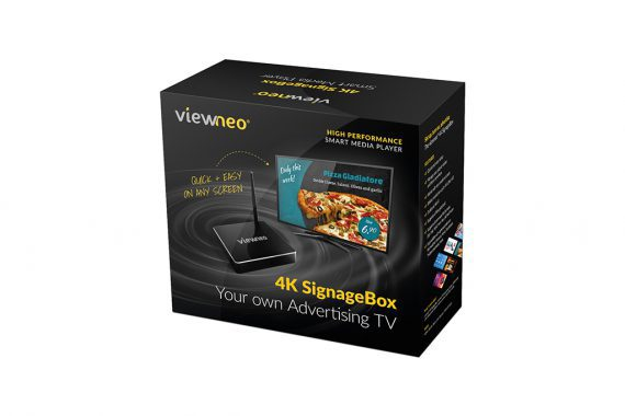 Viewneo 4K Digital Signage Box