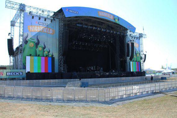 eps beim Highfield Festival