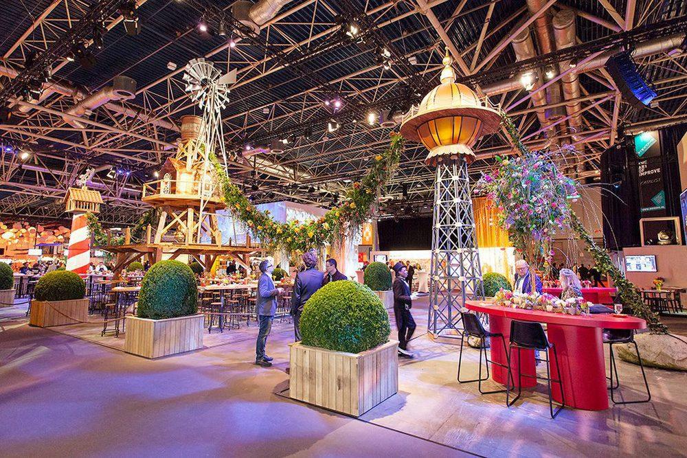 Pavillon der Niederlanden auf der BOE