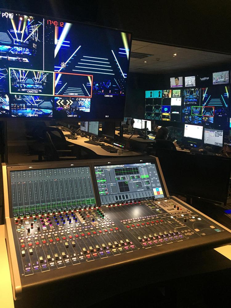 Lawo mc²36 Audiomischpulte