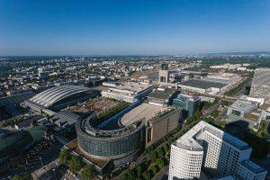 Gelände der Messe Frankfurt