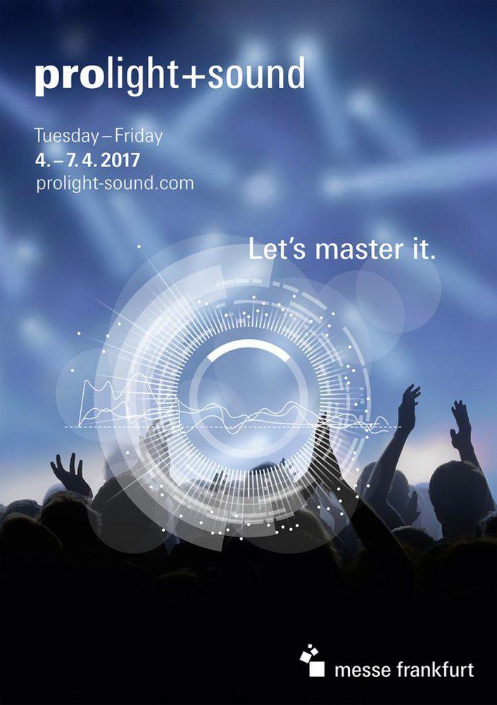 Keyvisual Prolight + Sound 2017