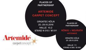 Carpet Concept und Artemide auf der Orgatec 2016