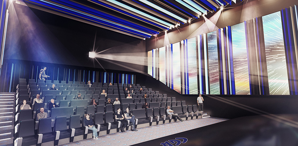 CGR Cinema mit Laserprojektor von Christie