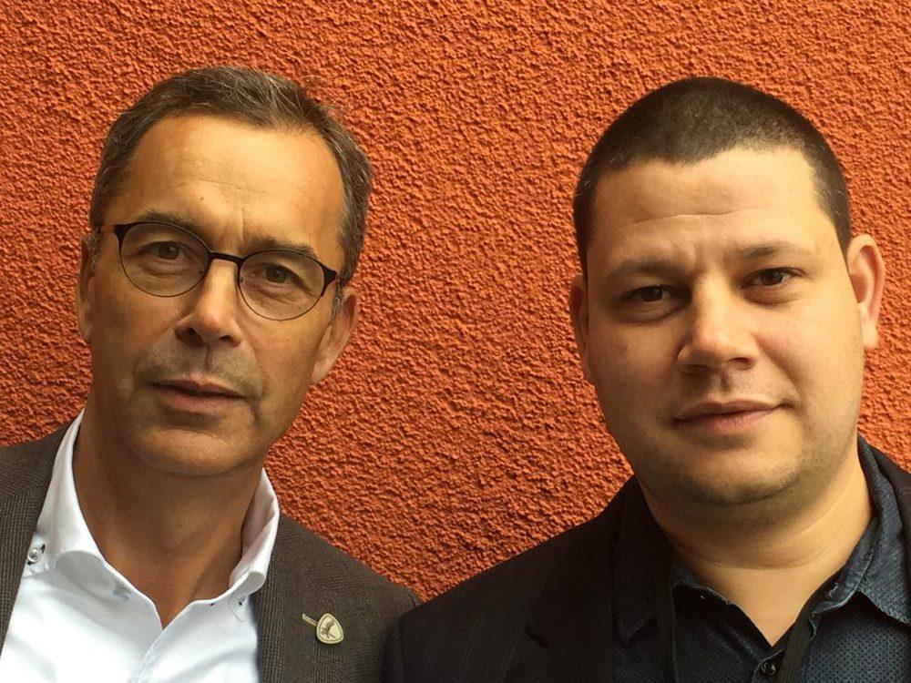 Albert Deltour und Mike Doerfling