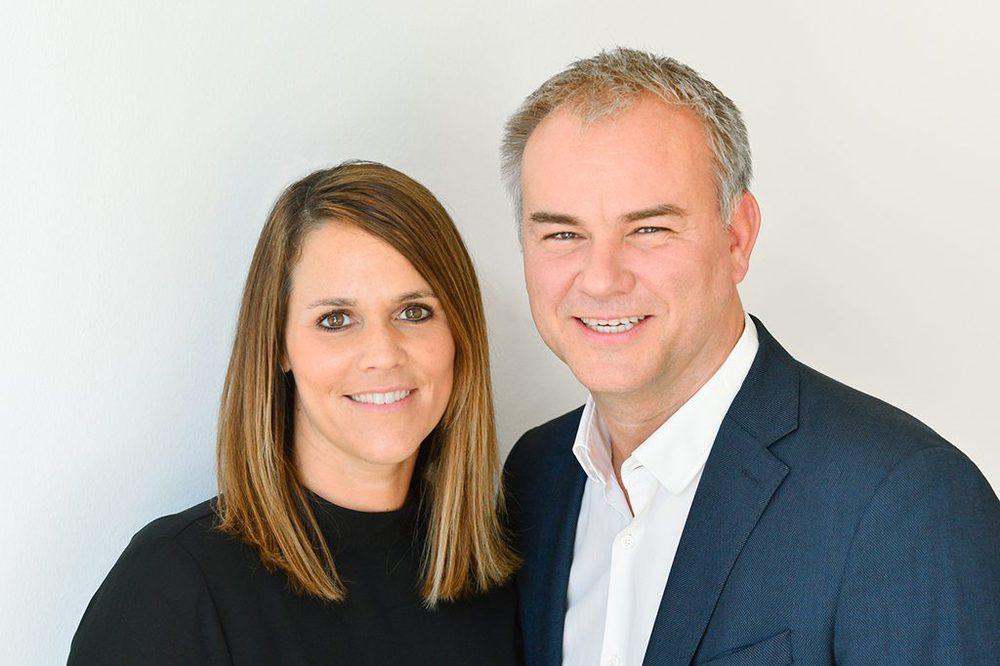 Katrin Eichelberger und Christian Poswa
