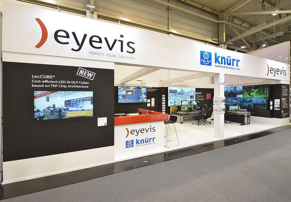 Eyevis auf der Security 2016