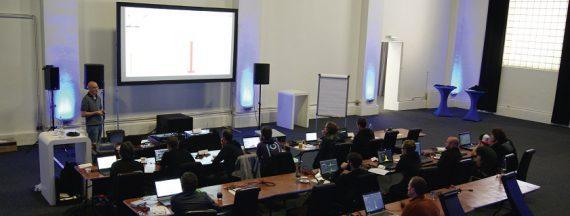 Markus Zehner bei einem Seminar