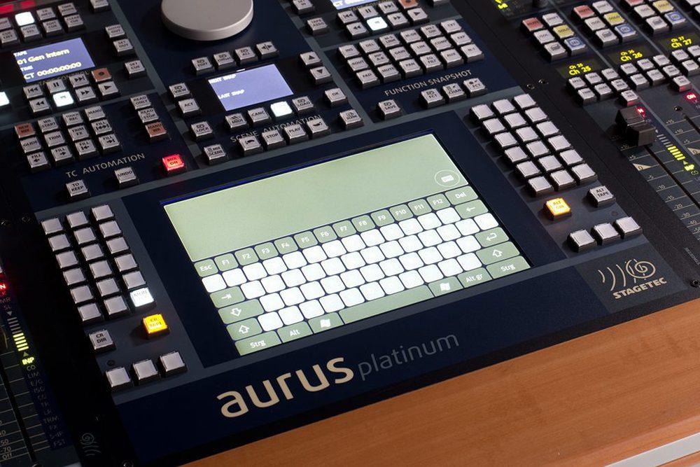 Aurus Platinum Touchpad