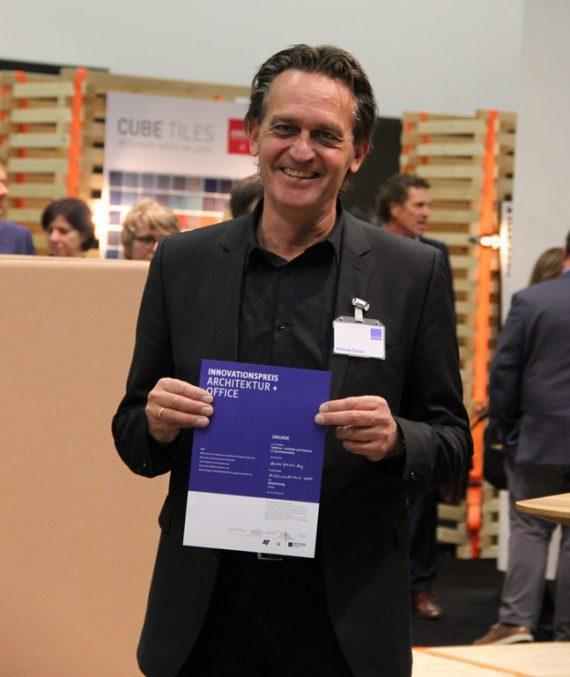Preisverleihung AIT: Andreas Gause, Gerriets GmbH, Leiter Marketing & Key Account Management