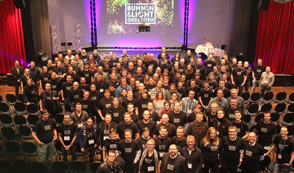 Cast aus Hagen im Anschluss an die Bühnen & LichtGestalten 2016