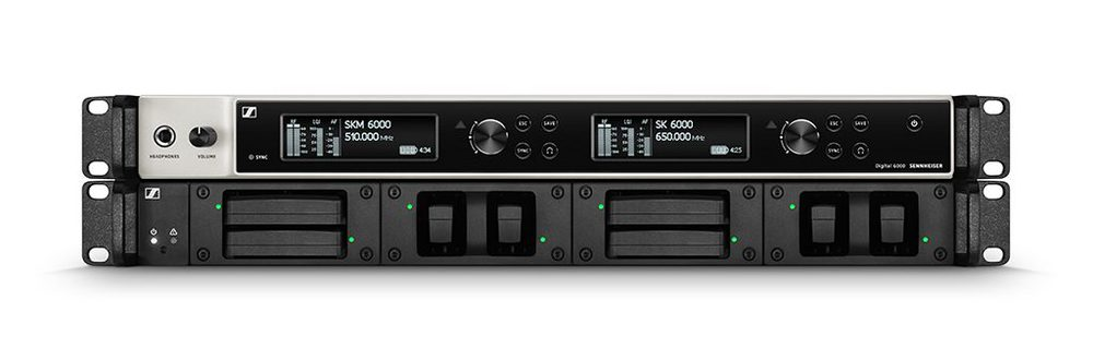 Sennheiser Receiver and L 6000 Charger Front