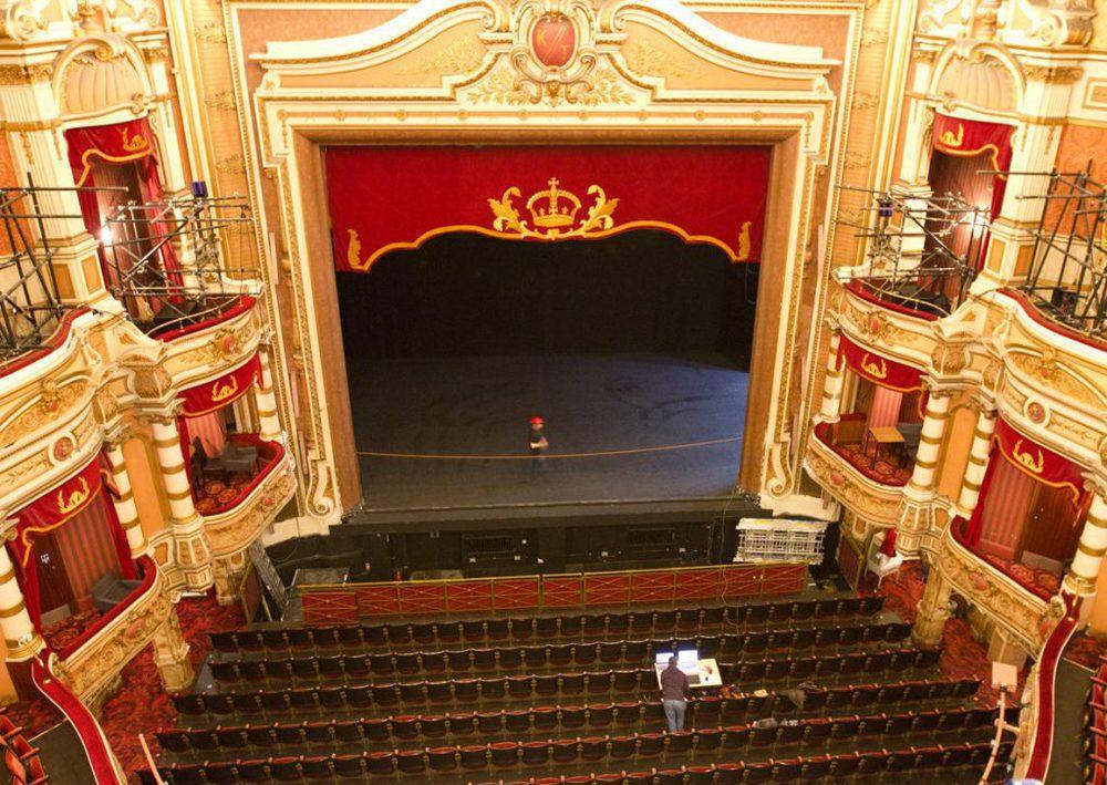 Umbau des ATG Theater