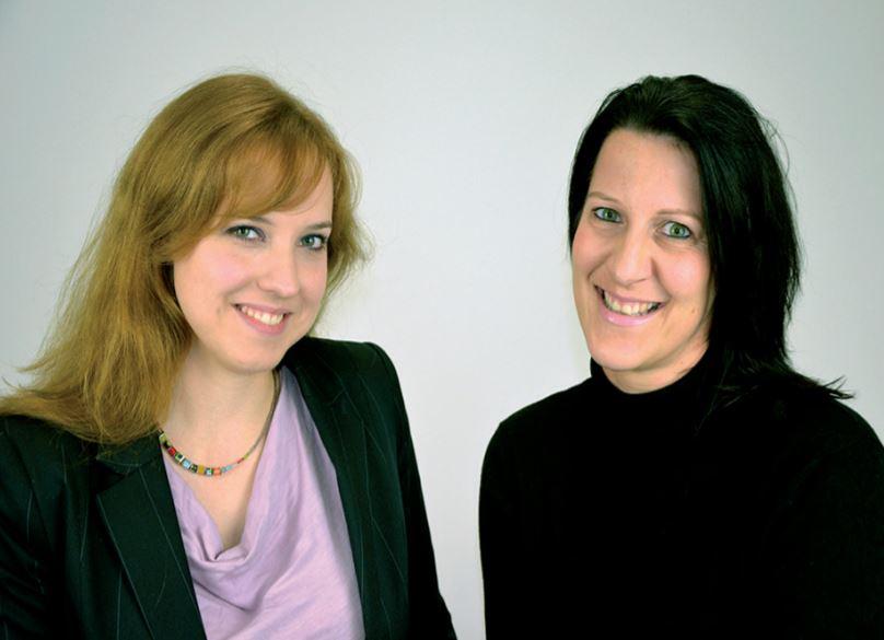 Anja Burrichter und Verena Mehr
