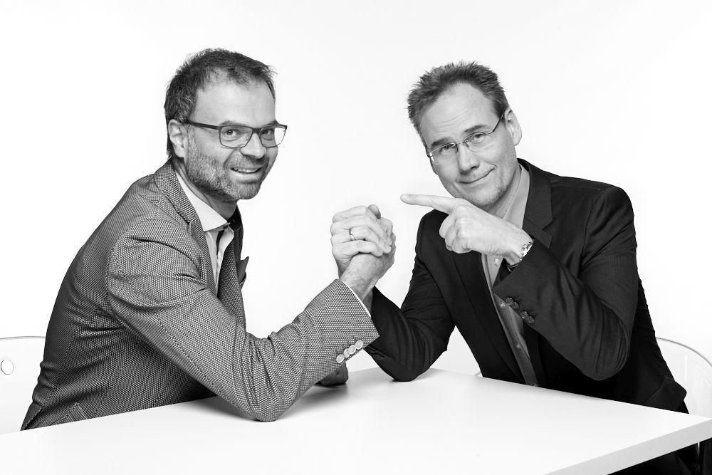Thomas Wüthrich und Andreas Laube